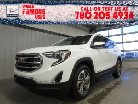 Certified Pre-Owned 2018 GMC Terrain SLT Diesel. Text 780-205-4934 for more information!
