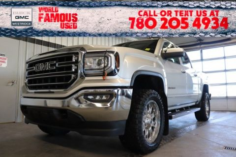 Certified Pre-Owned 2017 GMC Sierra 1500 SLE. Text 780-205-4934 for more information!