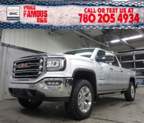 Certified Pre-Owned 2017 GMC Sierra 1500 SLT. Text 780-205-4934 for more information!