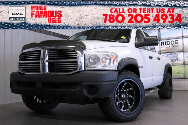 Pre-Owned 2008 Dodge Ram 1500 ST. Text 780-205-4934 for more information!