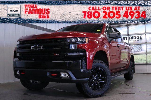 Pre-Owned 2019 Chevrolet Silverado 1500 LT Trail Boss. Text 780-205-4934 for more information!