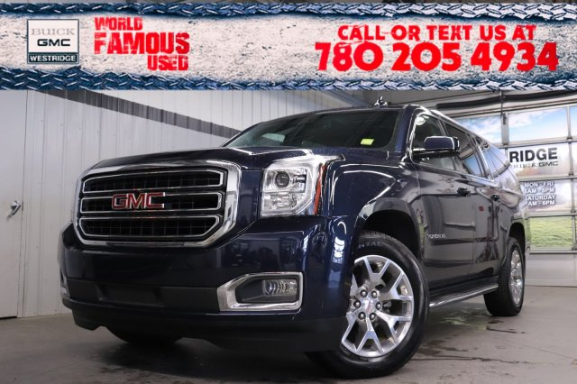 Certified Pre-Owned 2019 GMC Yukon XL SLT. Text 780-205-4934 for more information!