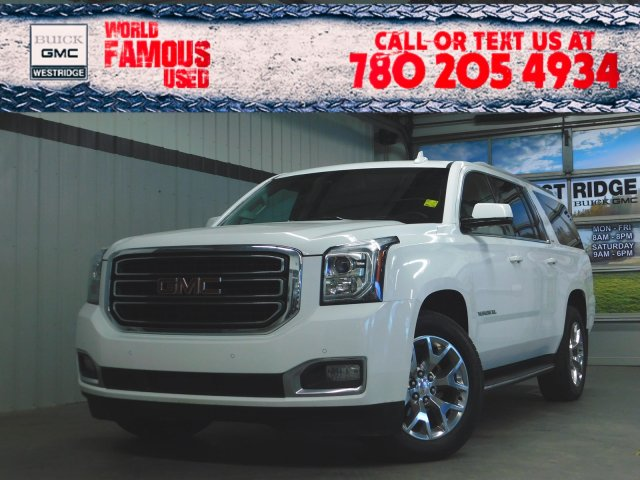Certified Pre-Owned 2017 GMC Yukon XL SLT. Text 780-205-4934 for more information!