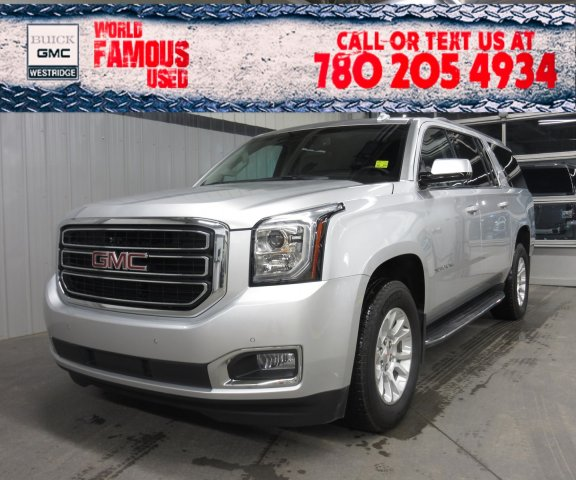 Certified Pre-Owned 2018 GMC Yukon XL SLT. Text 780-205-4934 for more information!
