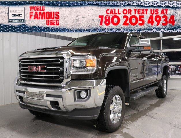 Certified Pre-Owned 2018 GMC Sierra 2500HD SLT. Text 780-205-4934 for more information!