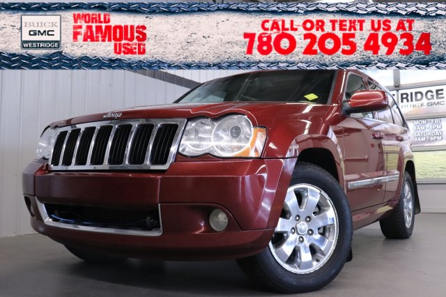 Pre-Owned 2008 Jeep Grand Cherokee Limited. Text 780-205-4934 for more information!