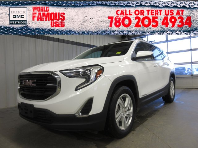 Certified Pre-Owned 2018 GMC Terrain SLE. Text 780-205-4934 for more information!
