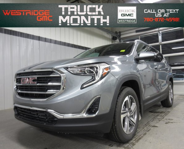 New 2019 GMC Terrain SLT Diesel. Text 780-872-4598 for more information!