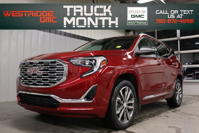 New 2019 GMC Terrain Denali. Text 780-872-4598 for more information!
