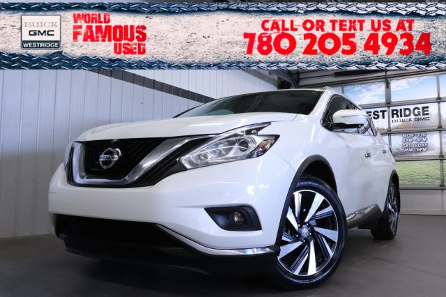 Certified Pre-Owned 2015 Nissan Murano Platinum. Text 780-205-4934 for more information!