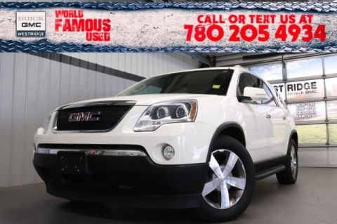 Pre-Owned 2010 GMC Acadia SLT1. Text 780-205-4934 for more information!
