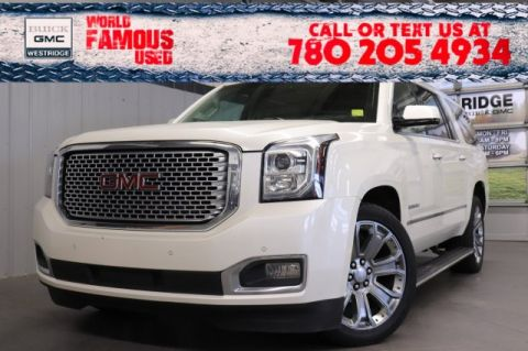 Pre-Owned 2015 GMC Yukon XL Denali. Text 780-205-4934 for more information!