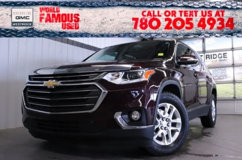 Pre-Owned 2018 Chevrolet Traverse LT Cloth. Text 780-205-4934 for more information!