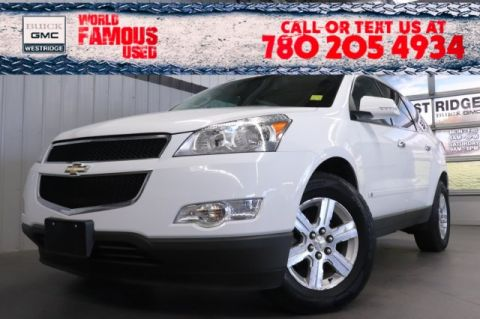 Certified Pre-Owned 2010 Chevrolet Traverse LT w/2LT. Text 780-205-4934 for more information!