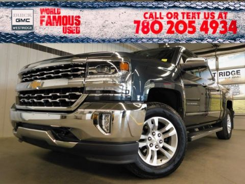 Certified Pre-Owned 2018 Chevrolet Silverado 1500 LTZ. Text 780-205-4934 for more information!