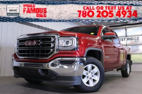 Pre-Owned 2018 GMC Sierra 1500 SLE. Text 780-205-4934 for more information!