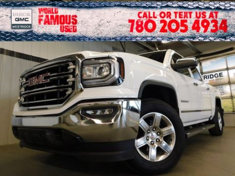 Certified Pre-Owned 2018 GMC Sierra 1500 SLT. Text 780-205-4934 for more information!