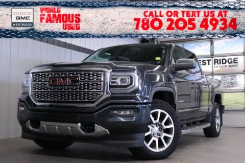 Pre-Owned 2018 GMC Sierra 1500 Denali. Text 780-205-4934 for more information!