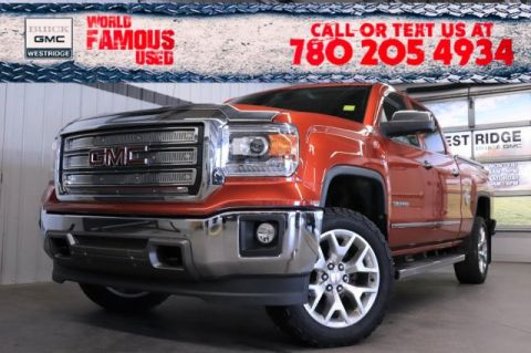 Pre-Owned 2015 GMC Sierra 1500 SLT. Text 780-205-4934 for more information!